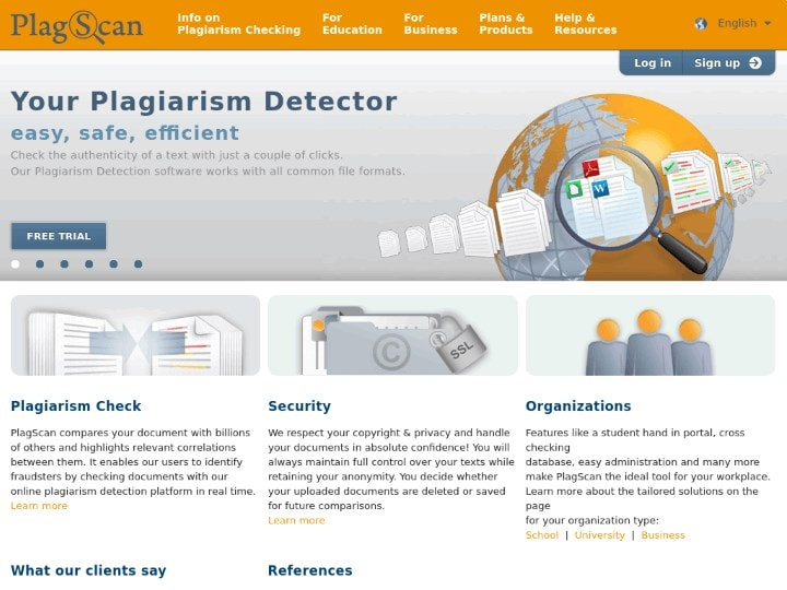check document for plagiarism free