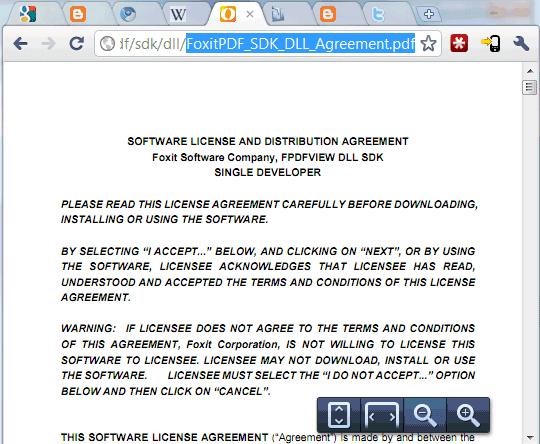 chrome pdf to chrome html document