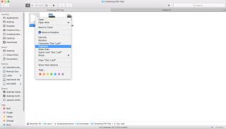 combine pdf into one document on mac