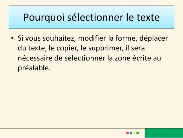 comment tout selectionner dans un document word control shift