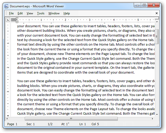 convert email to word document