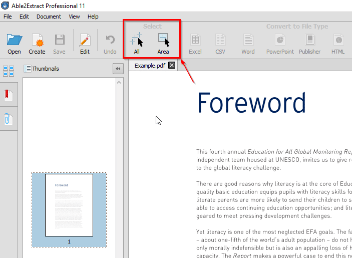 convert pdf file to word document for editing