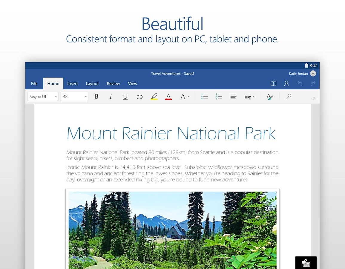 create word document on android