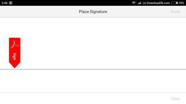 how to add a signature in a pdf document