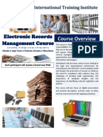 electronic document management systems course
