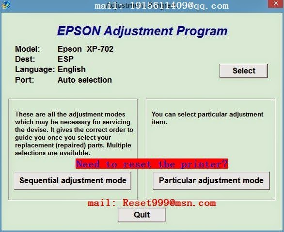 epson wf 2510 printer error see your documentation