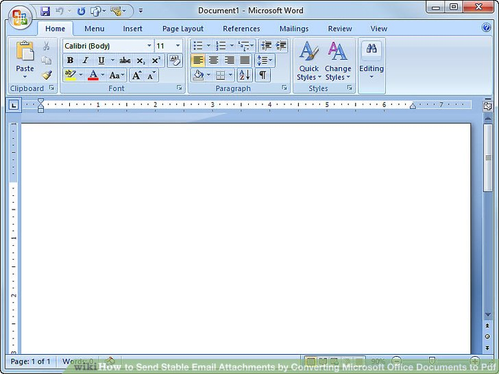 converting microsoft word document to pdf format