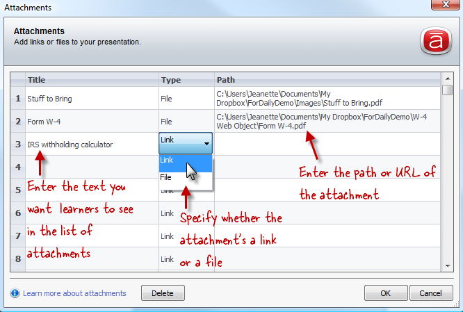 how to add pdf attachment to word document