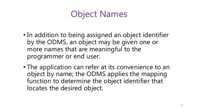 database design documentation standards
