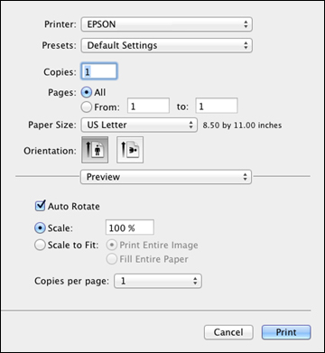 how to scan a document onto my mac