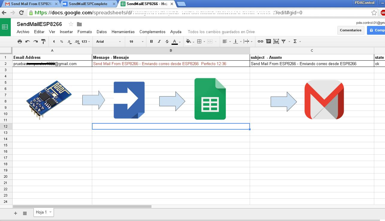 how to create a document google scripts
