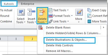 delete all autoshapes word document