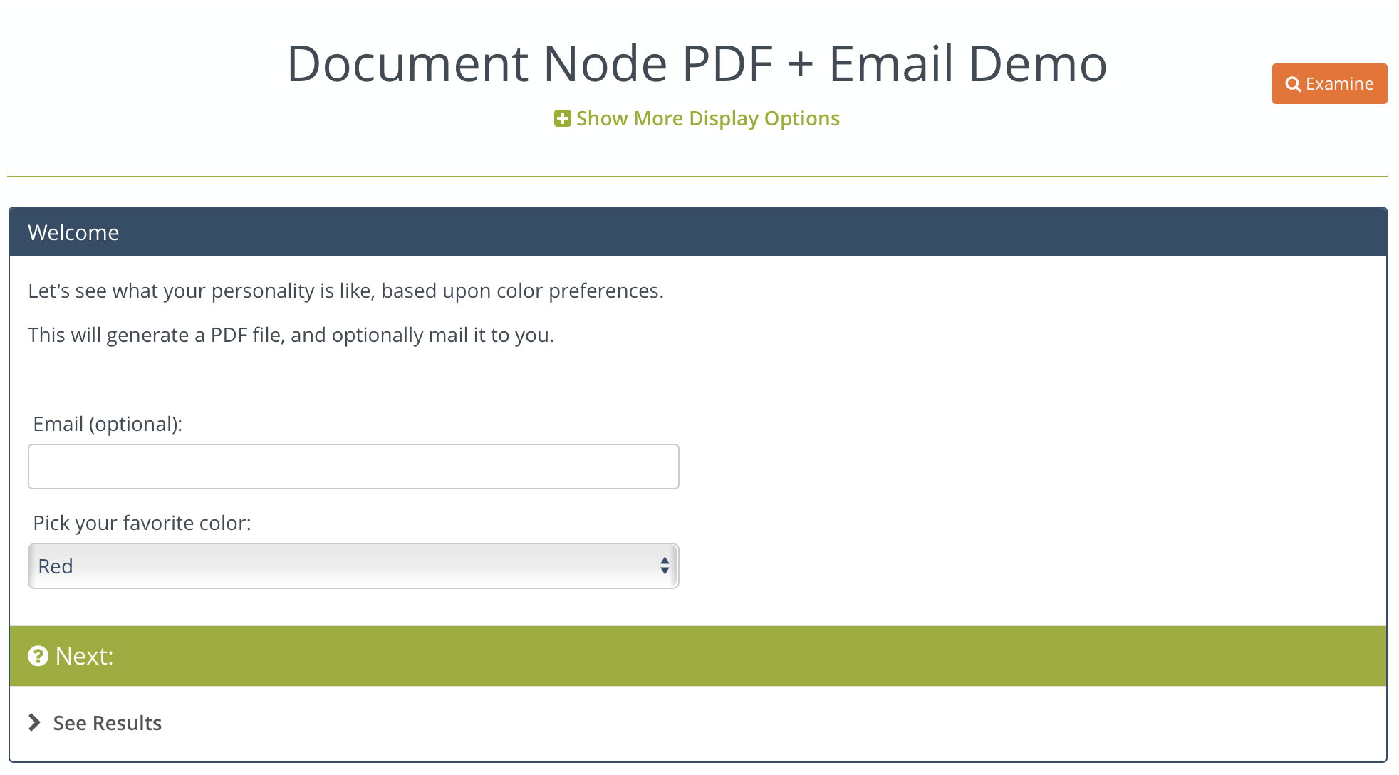 how to get an email as document
