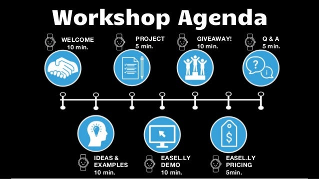 what information document to use to create agenda