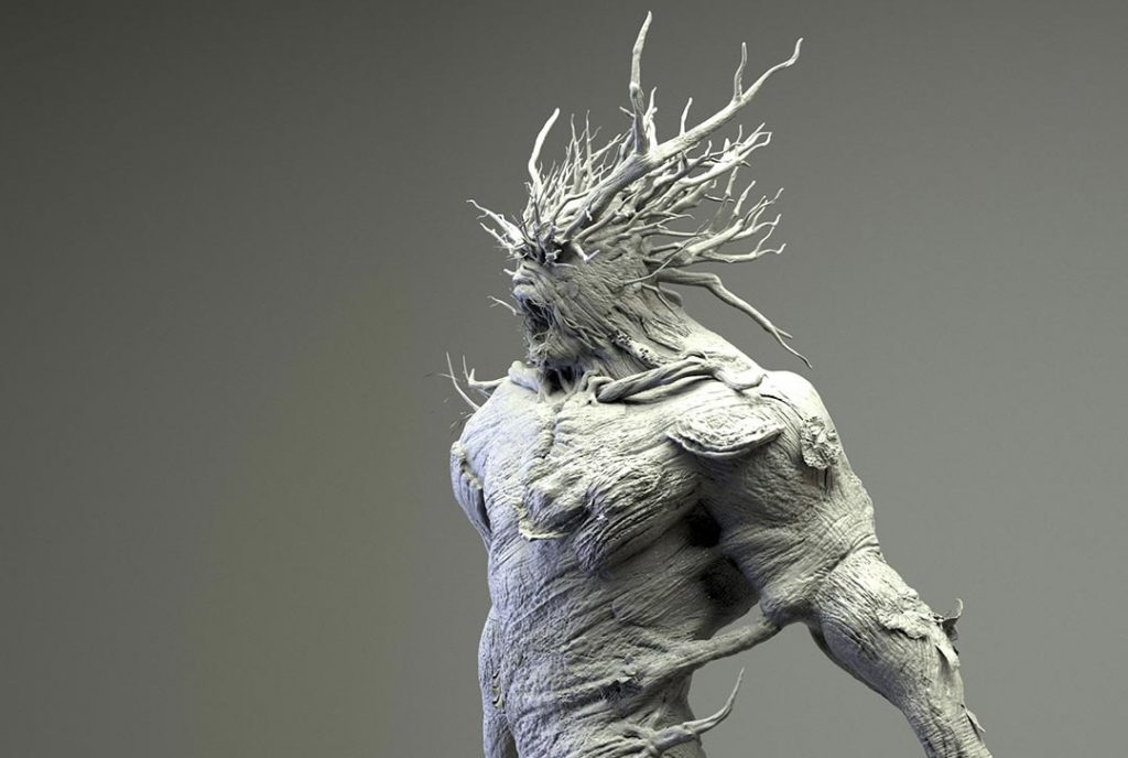 document change from 2d to 3d zbrush