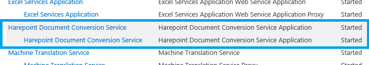 document conversion service in sharepoint 2010