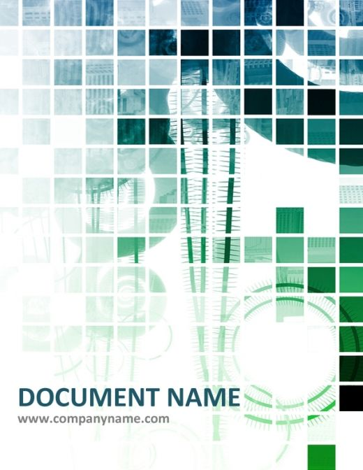 document cover page design free download