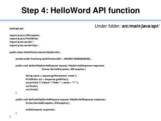 how to use java api documentation