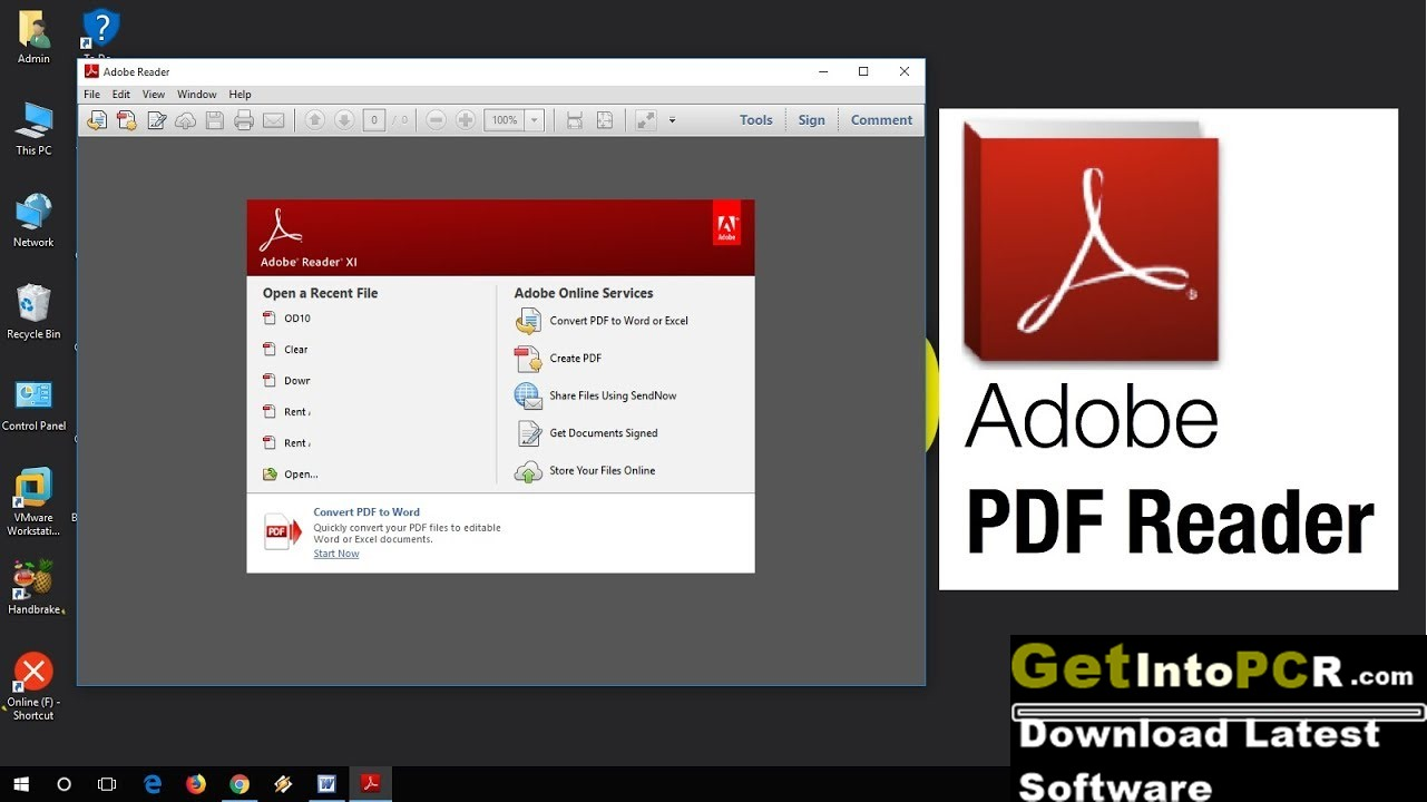 how convert one adobe reader pdf document into two