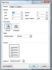 how to make a word document look professional