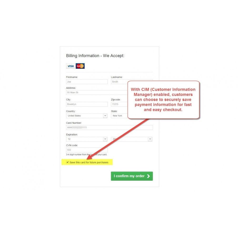 authorize net cim documentation