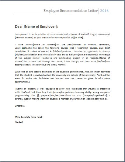 best resume format in word document
