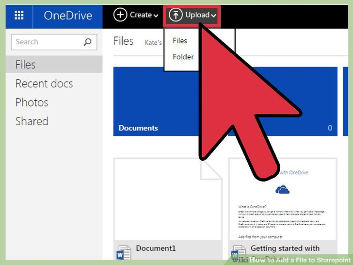 attach sharepoint document to outlook email
