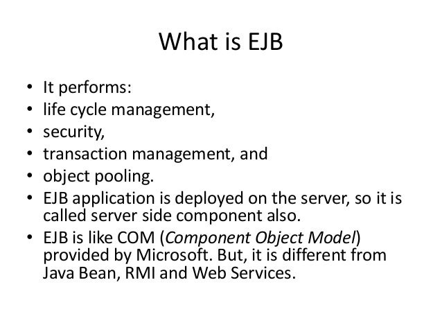 ejb 3.2 documentation