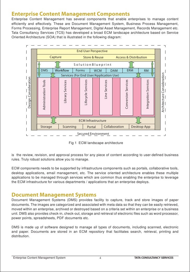 enterprise document management system wiki