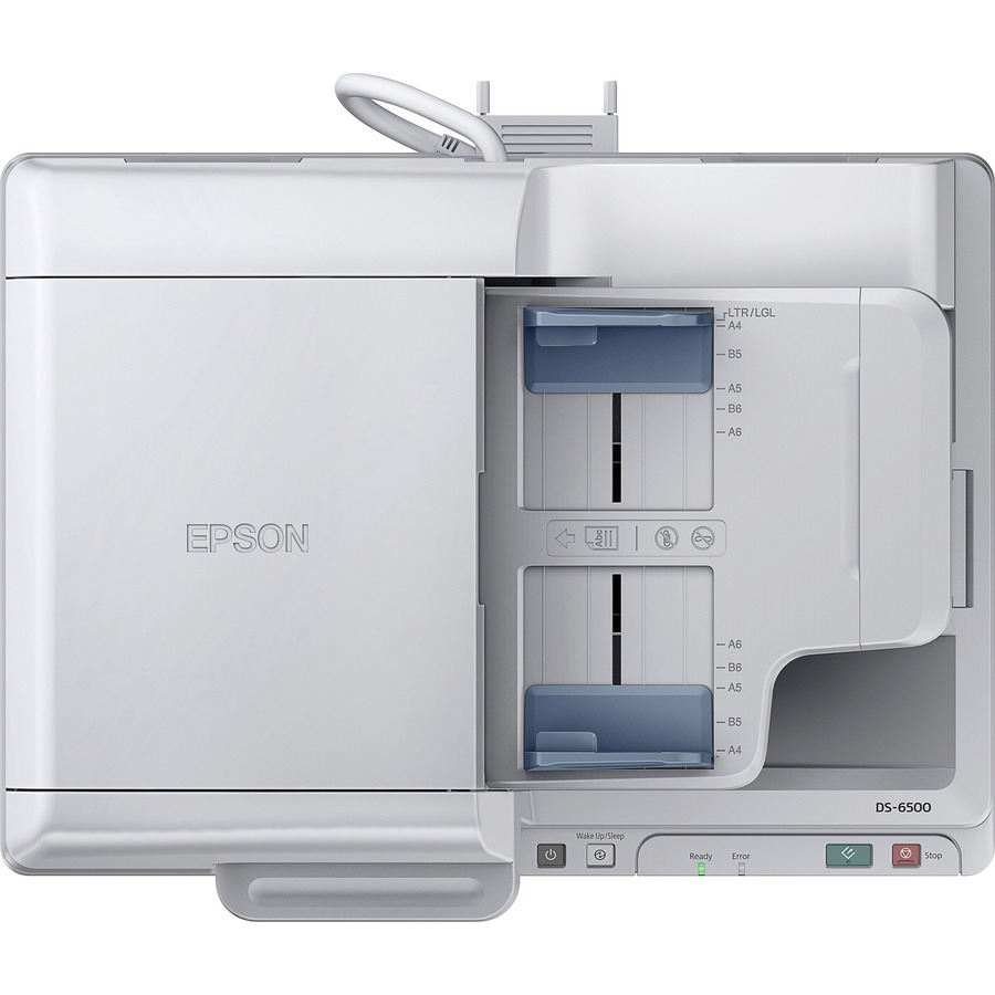 epson 7610 scan without using document feeder
