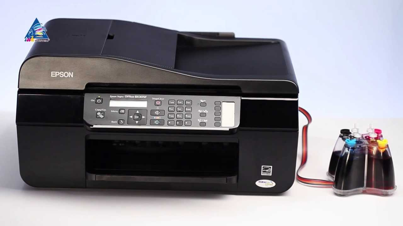 epson stylus office tx300f printer error see your documentation