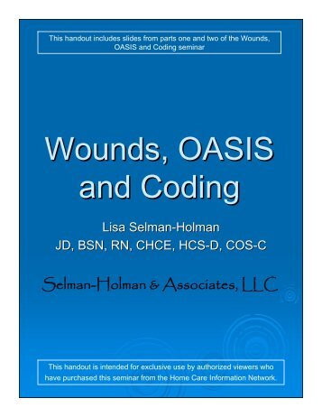 how to document wound care