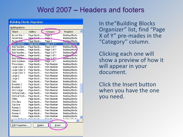 how to have different page layouts in one word document