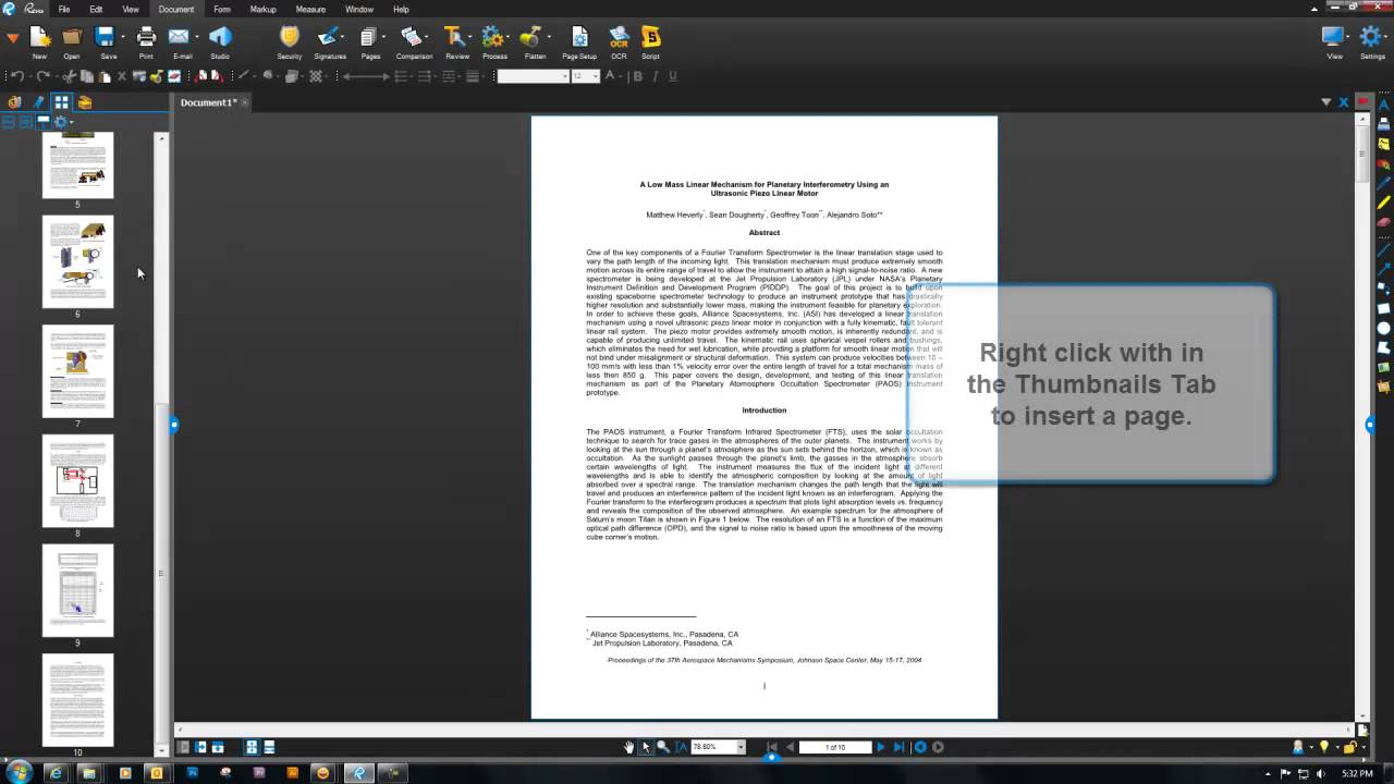 combine 2 pdfs into one document