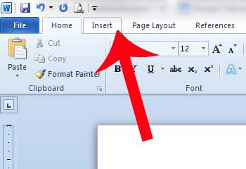how to insert extra page in word document