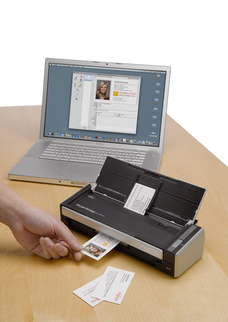 fujitsu scansnap s1300i document scanner