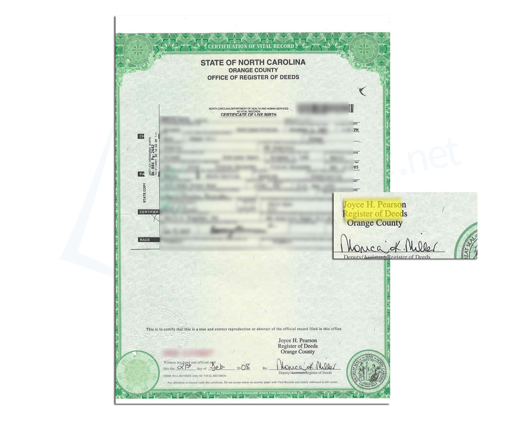 document number for vietnamese birth certificate