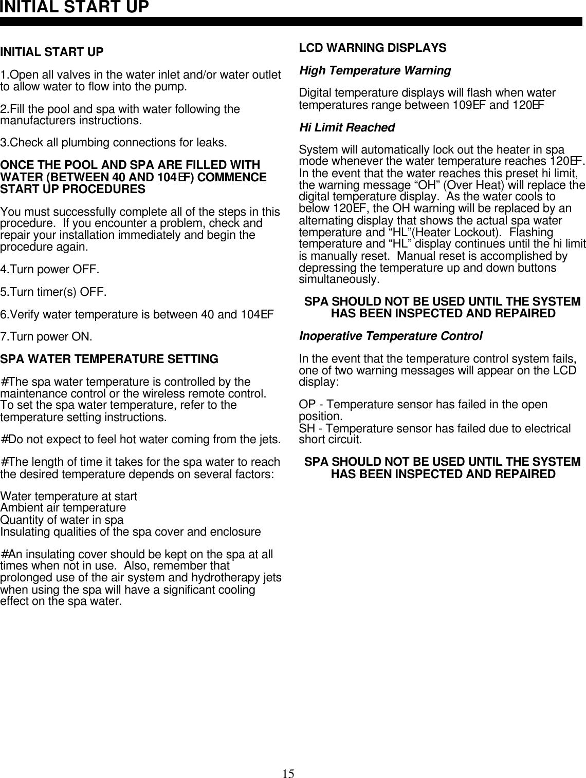 control system documentation pdf