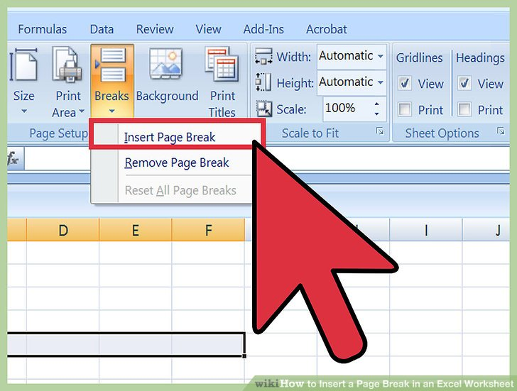 how to set up your document for print