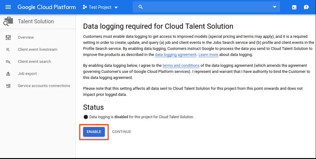 google jobs api documentation