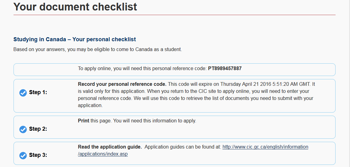 student visa 500 document checklist