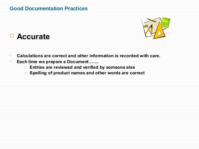 good documentation practices for email