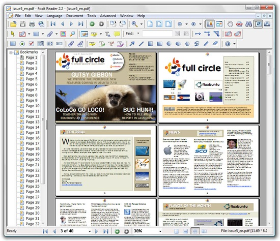 how to flatten document in foxit reader