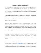 employee share scheme documentation