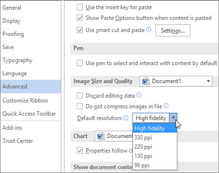 turn picture into word document