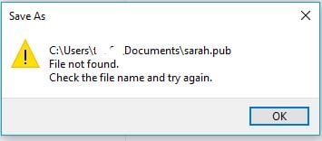 word been saving document now not saved
