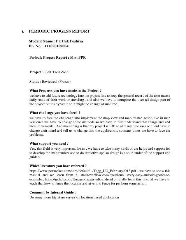 final project documentation sample