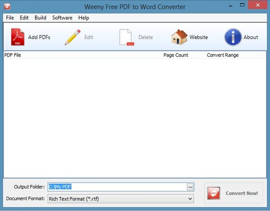 free online document converter pdf to word