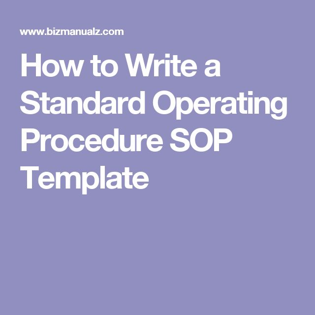 good documentation practices sop