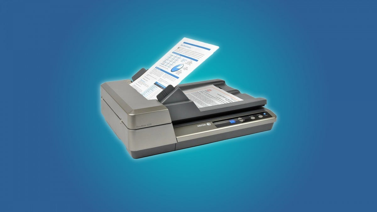 heavy duty document scanner specifications